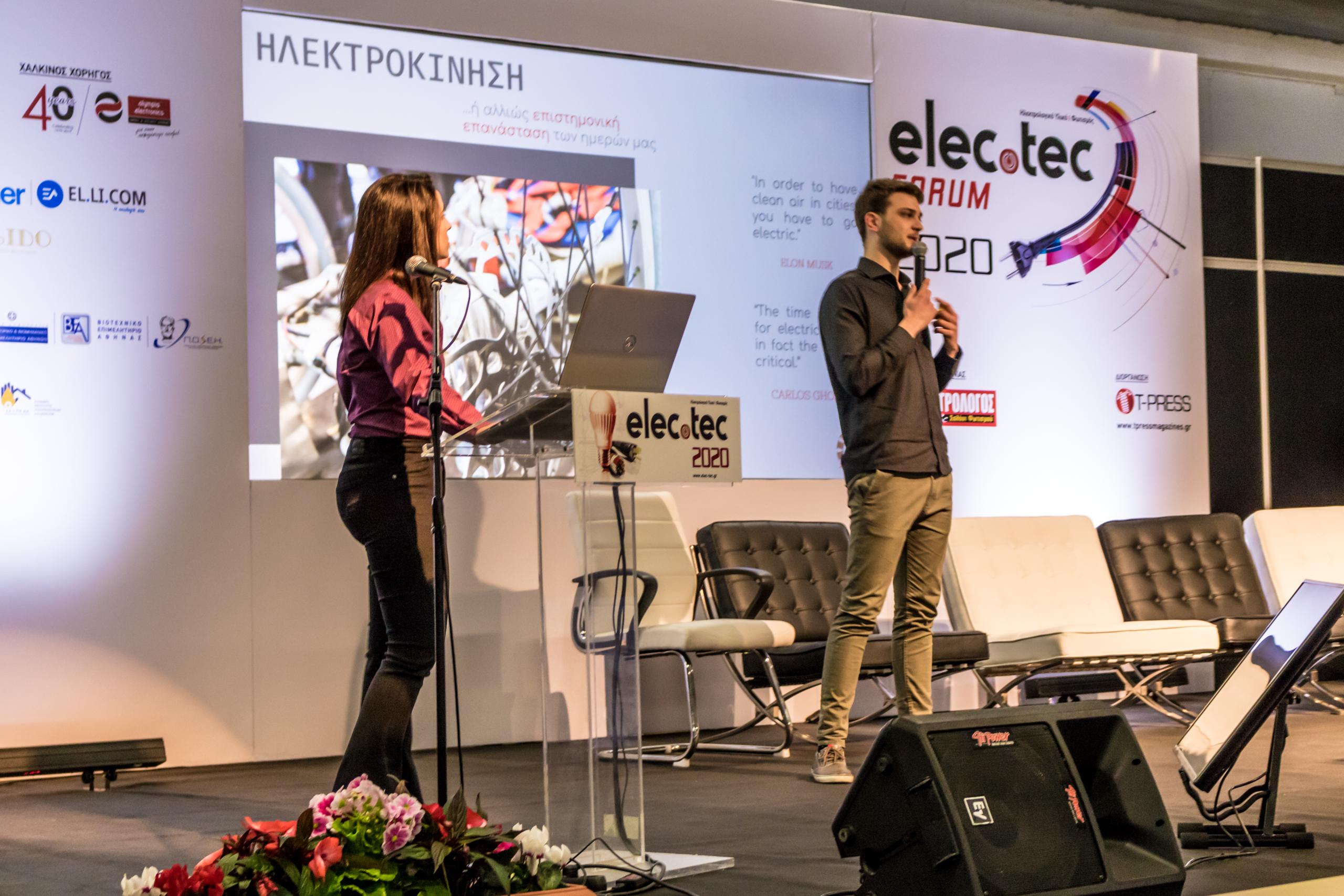Prometheus Eco Racing presents its activities in Elec.Tec 2020